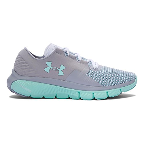 Shoes 2 Under Gray Speedform Crystal Women's Running Armour White UA Fortis Overcast afWng7H0W
