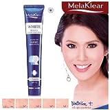 Melaklear White Melasma Brightening Cream, Dark Spot and Freckles Remover Cream SPF 15 Results in 11 Days 30g. : 2 Packs by Mistine