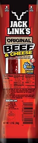 Jack Link's Beef & Cheese Original, Jalapeno, 4.8 Pound