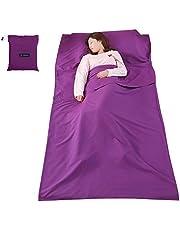Goofly Lightweight Sleeping Bag Liner Sleeping Sack Outdoor Camping Hotel Travel Sheet
