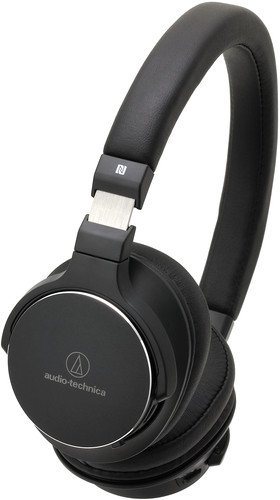Audio-Technica ATH-SR5BTBK Bluetooth Wireless On-Ear High-Resolution Audio Headphones, Black by Audio-Technica