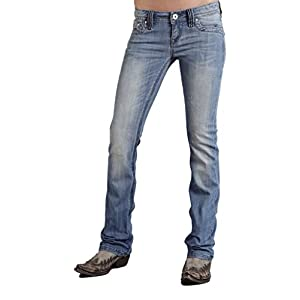 Stetson Womens 818 Hollywood Fit Heavy Stitch & Flaps