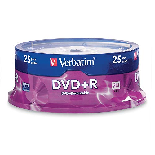 Cd Multi Collection Format (Verbatim DVD+R 4.7GB 16x AZO Recordable Media Disc - 25 Disc Spindle)