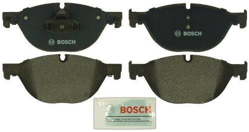 Bosch BP1409 QuietCast Premium Semi-Metallic Disc Brake Pad Set For Select Bentley Arnage; BMW (i, GT, Ld, Li, xDrive), 528, 535, 550, 650, 740, 750, ActiveHybrid; Rolls-Royce + More; Front