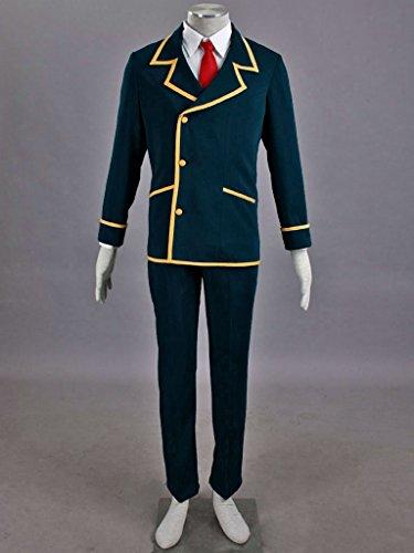 Mtxc Men's Love, Elections & Chocolate Cosplay Costume Ohjima Yuuki School Uniform Size XXX-Large Blue by Mtxc (Image #2)