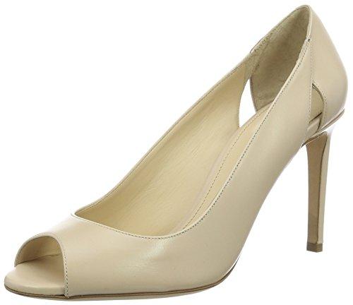 Hugo Florence 10195625 01, Zapatos de Punta Descubierta para Mujer Beige (Light Beige 270)