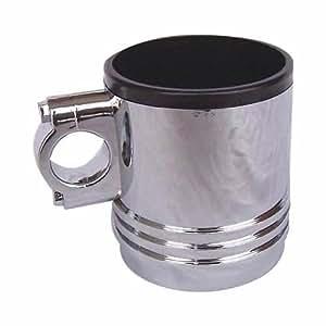 Motor de coche Wrenchware pistón cromado taza/botella con boquilla y tapa