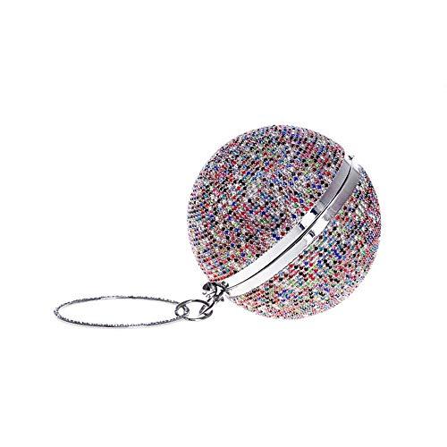 R1 De couleur Asdflina Bourse Sac Bandoulière Main Mariage Soirée Pochette R1 À Femme Mini qqSOt