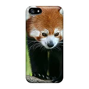 Excellent Iphone 5/5s Case Tpu Cover Back Skin Protector Red Panda
