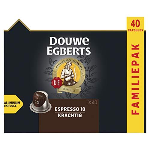 Douwe Egberts Koffiecups Espresso Krachtig Voordeelverpakking (200 Capsules, Geschikt voor Nespresso* Koffiemachines…