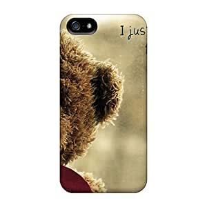 New Shockproof Protection Cases Covers For Iphone 5/5s/ Teddy Bear Heart Cases Covers