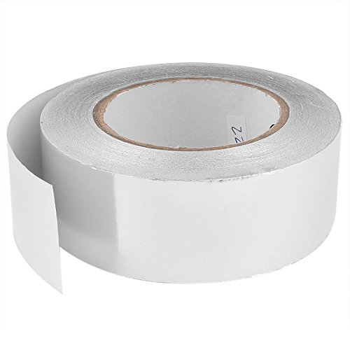 uxcell 45mm x 50m Roll Aluminium Foil Heating Duct Adhesive