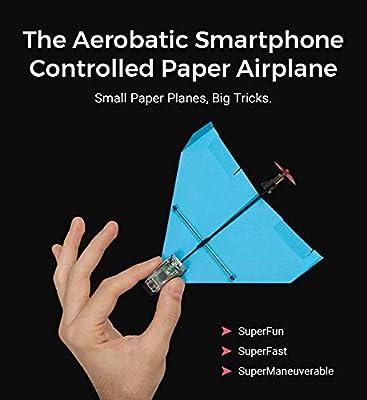 POWERUP 500-004BLAERO Dart Aerobatic Smartphone - Avión de Papel ...