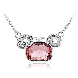 ZMC Women's Light Rose Locket Necklace