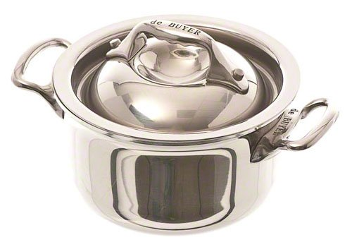 Browne (57374209) 1/3 qt Stainless Steel Stew Pot (Select Pot Steel Stainless Sauce)