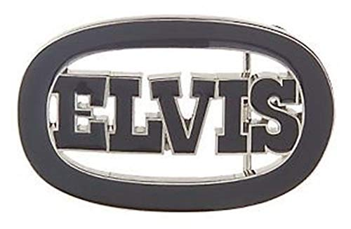 Elvis Presley Belt Buckle King of Rock And Roll Men Women Music collectibles ()