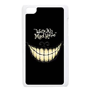 We're All Mad Here Popular Case for Ipod Touch 4, Hot Sale We're All Mad Here Case