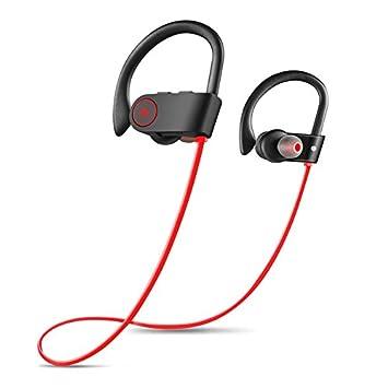 Auriculares Bluetooth Mejores Auriculares Deportivos Inalámbricos Con Micrófono IPX7 Sonido Estéreo HD A Prueba De Agua