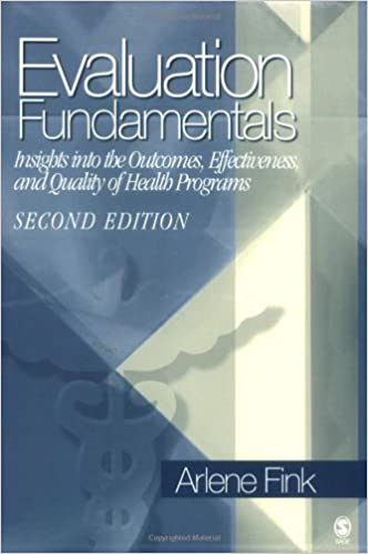 Evaluation Fundamentals >> Evaluation Fundamentals Insights Into The Outcomes Effectiveness