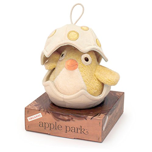 Apple Park Musical Baby Bird, Yellow