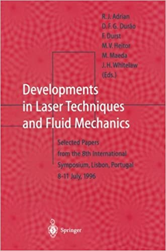 Developments in Laser Techniques and Fluid Mechanics: Selected Papers from the 8th International Symposium, Lisbon, Portugal 8-11 July, 1996