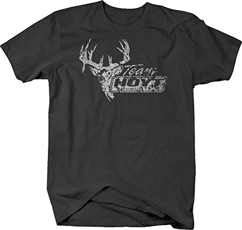 OS Gear Distressed - Team Hoyt Bowhunting Mounted Buck Tshirt - Medium (Chevy Racing Team)