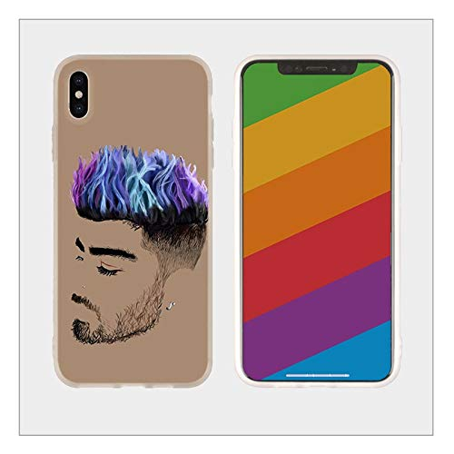 Inspired by Zayn Malik Phone Case Compatible With Iphone 7 XR 6s Plus 6 X 8 9 Cases XS Max Clear Iphones Cases TPU 33042859779 Case Case Mine Whole Necklace