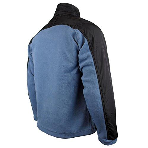 blue bouloches Zippé Chill Delta D'hiver China Travail Pour Polaire Anti Manteau Chaud Homme Fz Veste UOFwxYH