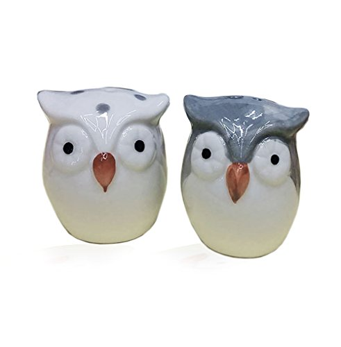 Cute owl salt and pepper shakers, 1