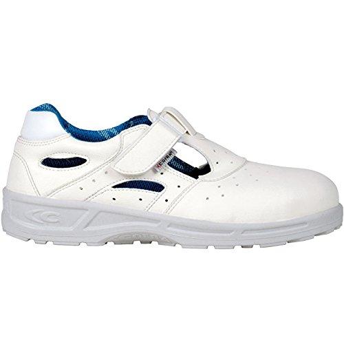Cofra 76480–000.w44ospedale scarpe, Talia, misura 9.5, bianco