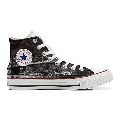 Star Handwerk All Customized Night Hi Schuhe NY personalisierte Converse Schuhe Z5pqq