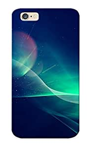 Catenaryoi Perfect Tpu Case For Iphone 6/ Anti-scratch Protector Case (waves And Colorful Blurs)