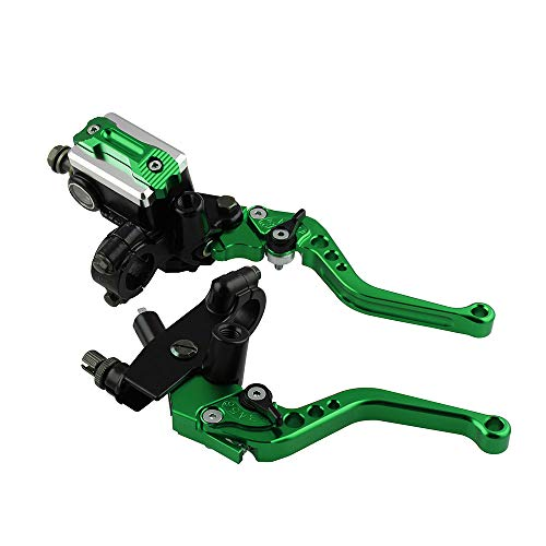 ACAMPTAR Motorcycle Retrofit General Handbrake Accessories brake clutch assembly off-road brake clutch(green):