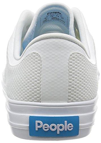 People Footwear - Zapatillas para hombre multicolor Negro y blanco Yeti White-Yeti White