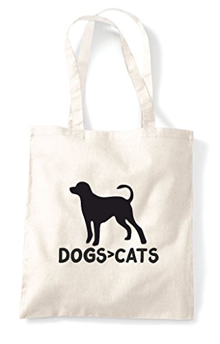 Cats Dogs Are Cute Tote Natural Animal Than Funny Greater Shopper Bag Themed Sttqr