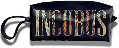 レディース ポータブル 小物入れ 化粧ポーチ 収納ポーチ Incubus インキュバス 収納袋 ガジェットポーチ コンパクト 便利グッズ インナーバッグ 軽量 小さめ メイクポーチ トイレタリーバッグ おしゃれ 便利 旅行 出張