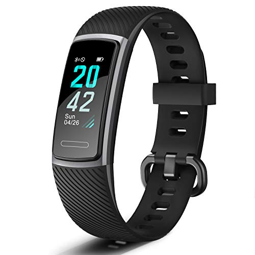 Letsfit Fitness Tracker, Activity Tracker with Heart Rate Monitor, Pedometer Watch with Sleep Monitor, Step Calorie Counter, Smart Bracelet for Kids Women and Men