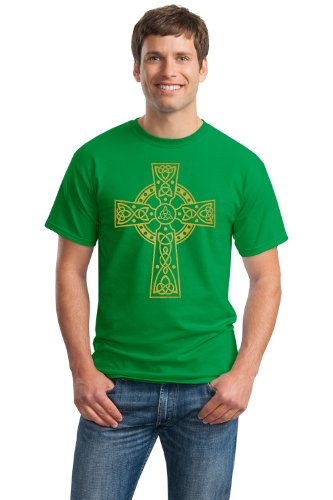 CELTIC CROSS Unisex T-shirt / Irish Catholic Pride St. Patrick Tee