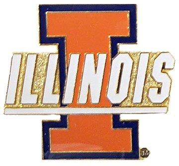 Illinois Fighting Illini Metal (NCAA Illinois Fighting Illini Logo Pin)