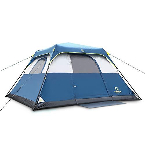 QOMOTOP Waterproof 6 People 60-Second Set Up Tent, Instant Cabin Tent, Camping Tent