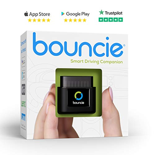 Bouncie - Connected Car - OBD2 Adapter - $8 Monthly 3G Service Req'd - Location Tracking