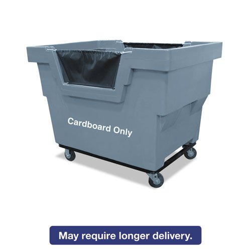 Mail Truck, Cardboard Only, 31 3/4 X 48 X 37, 1,000 Lbs. Capacity, Gray by Royal Basket Trucks