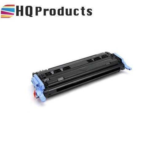 HQ Products Re-Manufactured Replacement for HP 124A (Q6000A) Black Toner Cartridge for use in HP Color Laserjet 1600, 2600N, 2605DN, 2605DTN, 2605CM, 1015MFP, 1017MFP Series Printers.