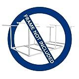 FLEXIMOUNTS Add-On Storage Wire Deck, Frame not