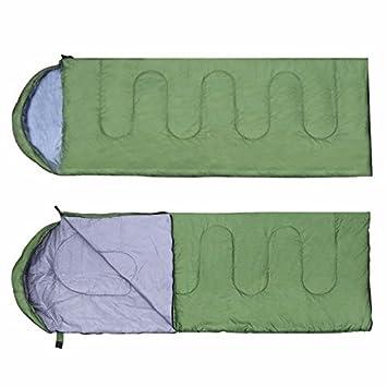 SUHAGN Saco de dormir Saco De Dormir Al Aire Libre Tipo Envolvente Fácil Encapuchados, Bolsa