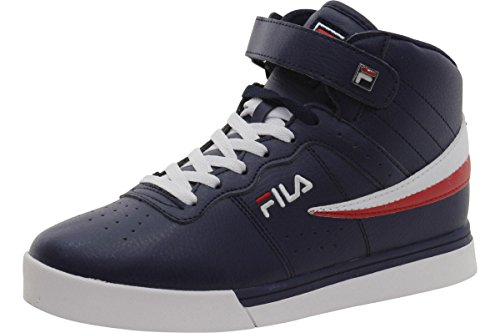 Fila Mens Vulc 13 Mi Plus 2 Chaussure De Marche Marine Fila, Blanc, Rouge Fila