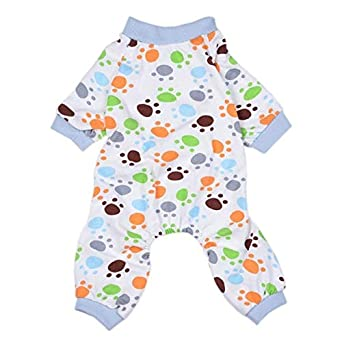 418e6822edfe Veena Hold Honey Dog Jumpsuits Overalls Clothes for Dogs Cotton Dog ...