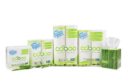 Bamboo Baby Wipes by Caboo | Sustainable 100% Tree Free | Organic and Hypoallergenic | BPA, Chlorine, and Paraben Free | Naturally Scented with Aloe | Bundle Value 3 Packs of 72 Wipes (216 Count)