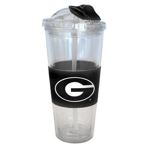 Georgia Bulldogs No Spill Straw - Mall Website Of Georgia