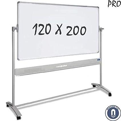 Pizarra Blanca 120x200 cm - Móvil / Doble Cara / Magnética ...